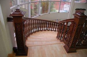 Hvad slags Gulvbelægning kan bruges på trapper?