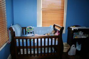 Ideer til maleri striber i en Baby værelse