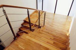 Hvad træ til brug for trappetrin