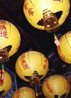 Karakteristik af en orientalsk designstil