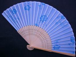 Sådan vises en orientalsk Fan