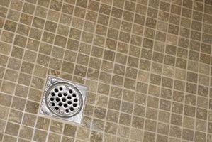 Hvordan man opbygger en flise brusebad bassin