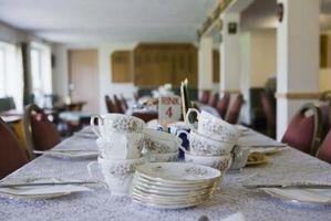 Holdbarheden af porcelæn spisestel