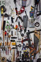 Garage organisatoriske Makeover ideer