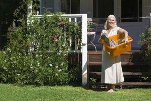 Ideer til landskabspleje ældre huse med Front Porches