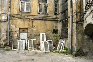 Anvendelser af gamle vinduer