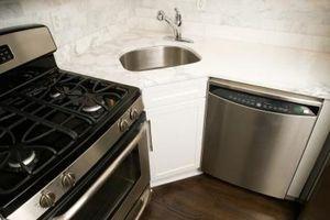 Organisere ideer til små steder i køkkenet