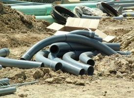 Typer af plastrør fundet i boligbyggeriet