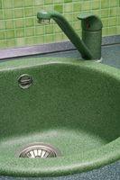 Hvordan til at placere en vask i en bordplade