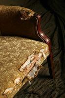 Sådan Reupholster en gamle stol