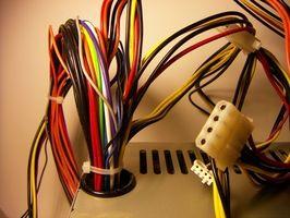 Fejlfinding ledninger af en Honeywell termostat