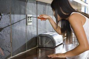 Sparsommelige ideer til køkken Backsplashes