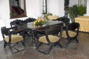 Hvordan at rengøre og skinne en 50s Formica tabel