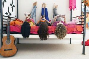 Hvordan man kan dekorere en Teenager soveværelse i Neon farver