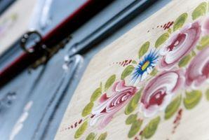 Tips til dekorativ maling til møbler