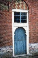 Indgangen trædør stilarter