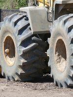 Sådan læses traktor dæk sidevægge