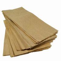 Hvordan til at dække et gulv med brunt papirposer