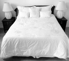 Forskelle i Californien & østlige King Size senge