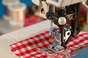 Hvordan at justere spændingen på en Viking symaskine