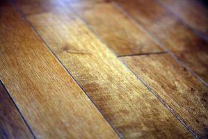 Hårdttræ gulv farvning problemer