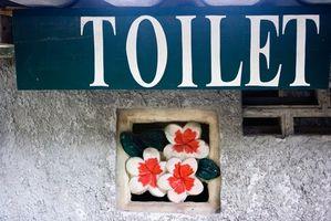 Toilet skål typer