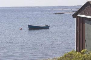 Typer af skure for ejendommen ved siden af havet