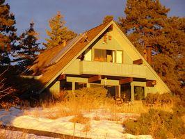 Hvordan opbygger jeg en veranda på et A-Frame hjem?