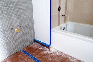 Hvordan til at ombygge en smal badeværelse