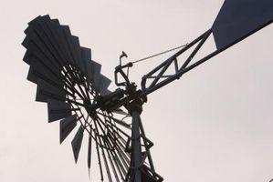 Hvordan man laver en vindmølle med en Magnet