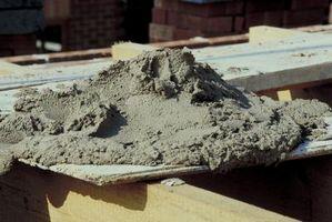 Hvordan at ramme en Slab for en mursten afsats