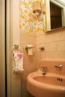 Hvordan man kan dekorere et badeværelse med en 1960s tema