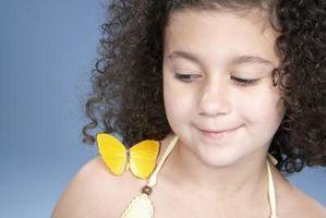 DIY idéer til en sommerfugl-tema buksetrold pige soveværelse