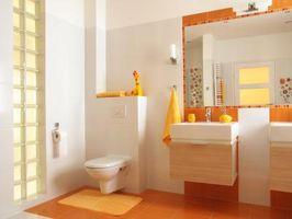 Hvor stor er det gennemsnitlige badeværelset?
