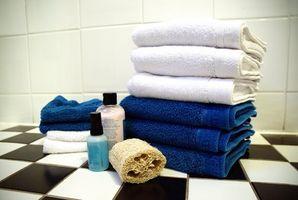 Badeværelse farve ordningen idéer