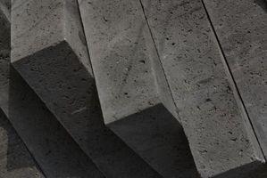 Hvordan man kan afslutte betonfliser med farve & tekstur