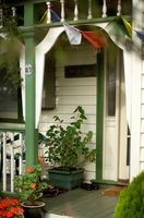 Hvordan man opbygger en overdækket veranda