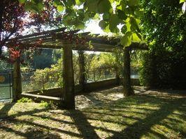 Hvordan man opbygger en Pergola eller overdækket gangbro