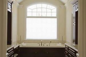 Sådan Paint tekstureret badeværelse lofter