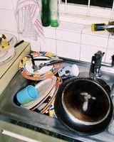 Skal jeg bruge flade eller semi-gloss for et køkken loft?