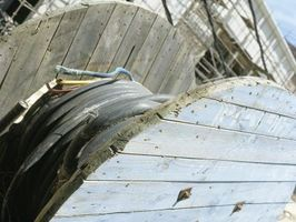 DIY stole med Wire Spool lameller