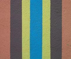 Instruktioner for maleri striber på gulvet
