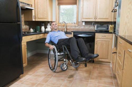 Køkkenudstyr til handicappede