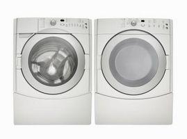 Sådan Winterize Tøjvask vaskemaskiner