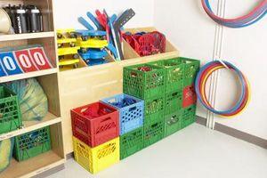 Ideer til et stort rum med ingen skab for børn