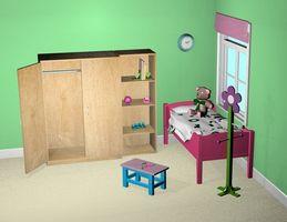 Sådan Decorate drenge & piger soveværelser