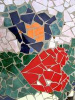 Udendørs mosaik ideer