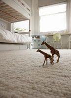 Frise tæppe typer