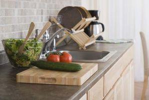 Vejledningen for en Fiber Optic beton køkkenbordet