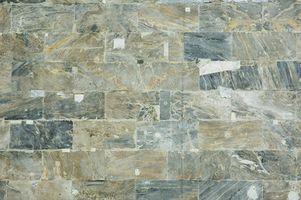 Tumlede marmor Backsplash ideer